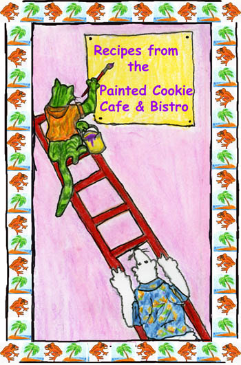 painted cookie book cover